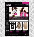 Fashion ZenCart  Template 33092
