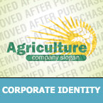 Agriculture Corporate Identity Template 33101