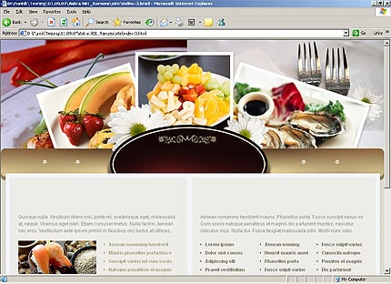 Template 33172 ( Links Page ) HTML Screenshot