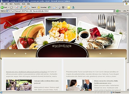 Template 33172 ( Events Page ) HTML Screenshot