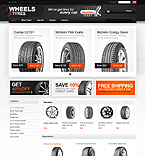 Cars osCommerce  Template 33174