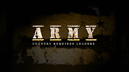 Army After Effects Logo Reveal