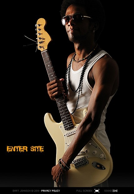 Singer Facebook Flash CMS Template Facebook Screenshot