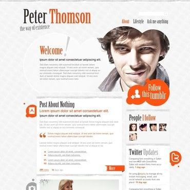 Tumblr Thème thomson site 33221