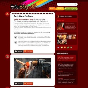 Blog Site Tumblr Theme 33224