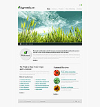 Agriculture Turnkey Websites 2.0 Template 33245
