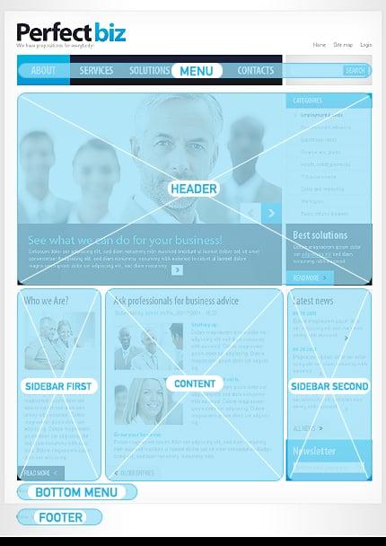 Drupal Template 33273 Main Page Screenshot