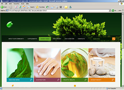 Template 33365 ( Added Video Page ) HTML Screenshot
