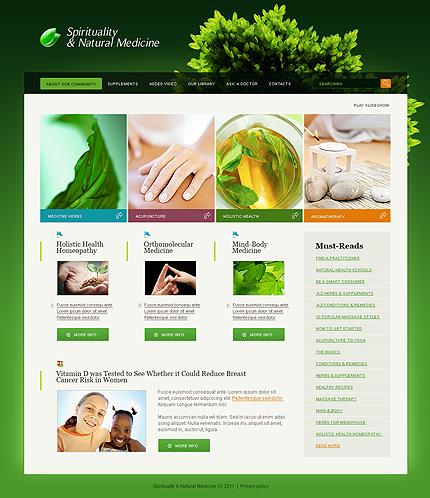 SWiSH Template 33365 Main Page Screenshot