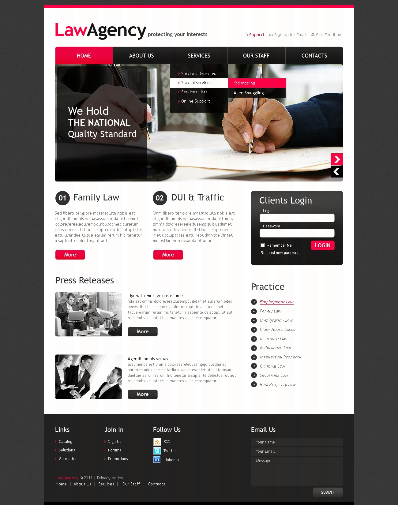 Law firm website template 33304 law firm website template pronofoot35fo Choice Image