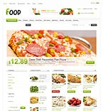 Food & Drink VirtueMart  Template 33419