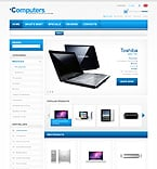 Computers osCommerce  Template 33439