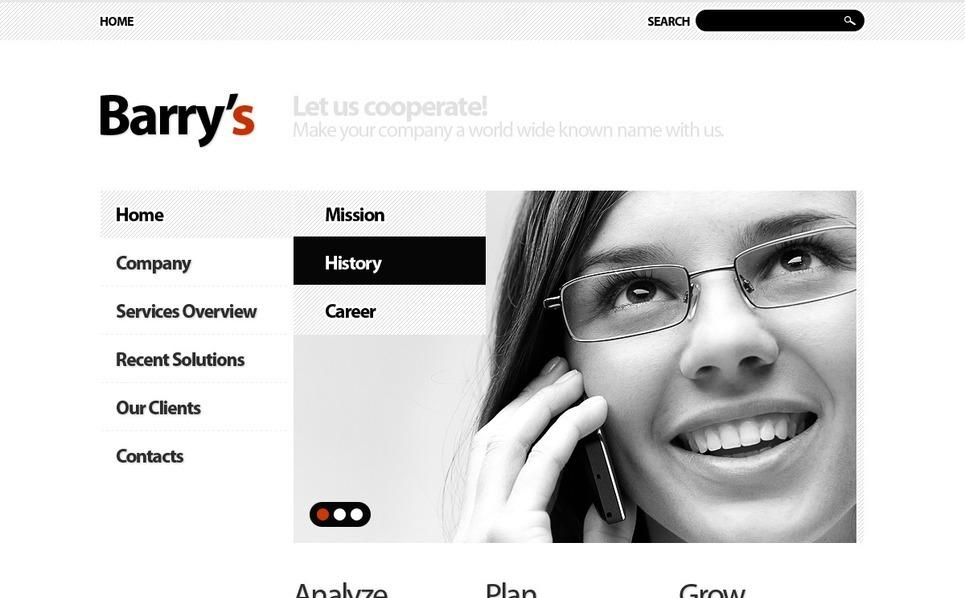 Plantilla Drupal #33461 para Sitio de Negocio y Servicios New Screenshots BIG
