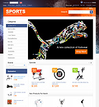 Sport osCommerce  Template 33481