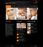 Communications Turnkey Websites 2.0 Template 33500