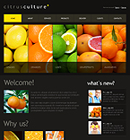 Agriculture Drupal  Template 33548
