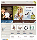 Gifts osCommerce  Template 33582