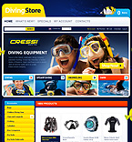 Sport osCommerce  Template 33584