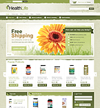 Medical VirtueMart  Template 33589