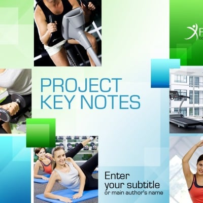 Fitness Powerpoint Templates
