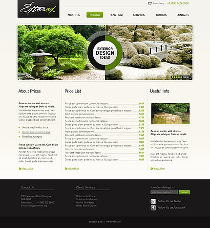 Template 33601 ( Pricing Page ) ADOBE Photoshop Screenshot