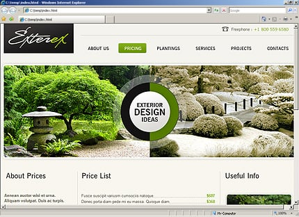 Template 33601 ( Pricing Page ) HTML Screenshot