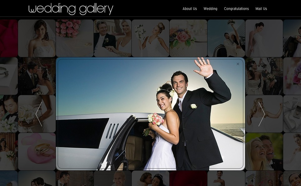 Plantilla Flash CMS #33611 para Sitio de Álbum de boda New Screenshots BIG