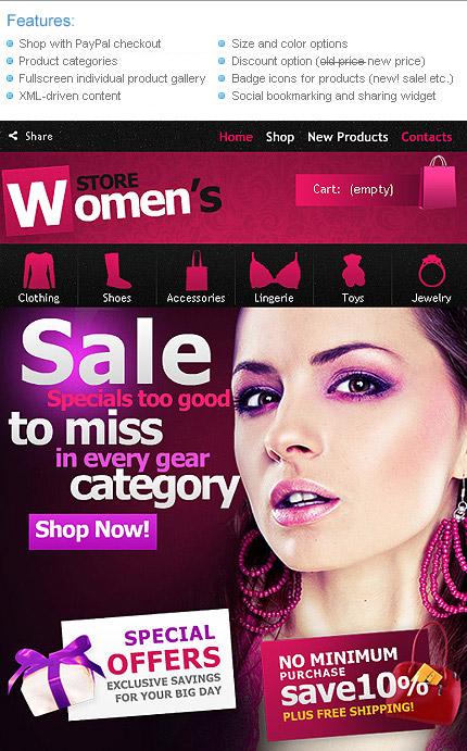 ADOBE Photoshop Template 33621 Home Page Screenshot