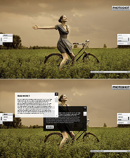 ADOBE Photoshop Template 33646 Home Page Screenshot