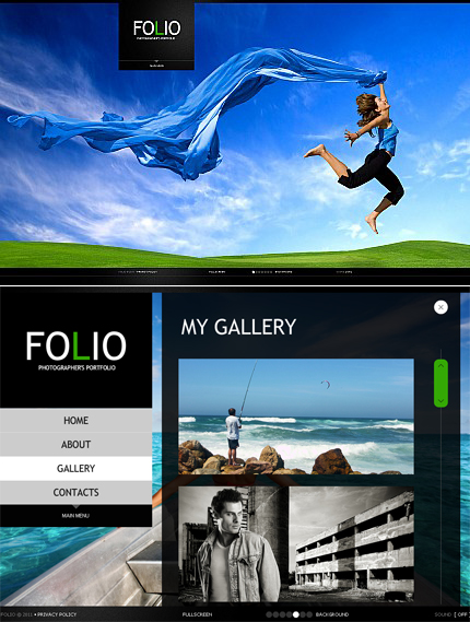 ADOBE Photoshop Template 33647 Home Page Screenshot