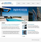 Architecture Turnkey Websites 2.0 Template 33721