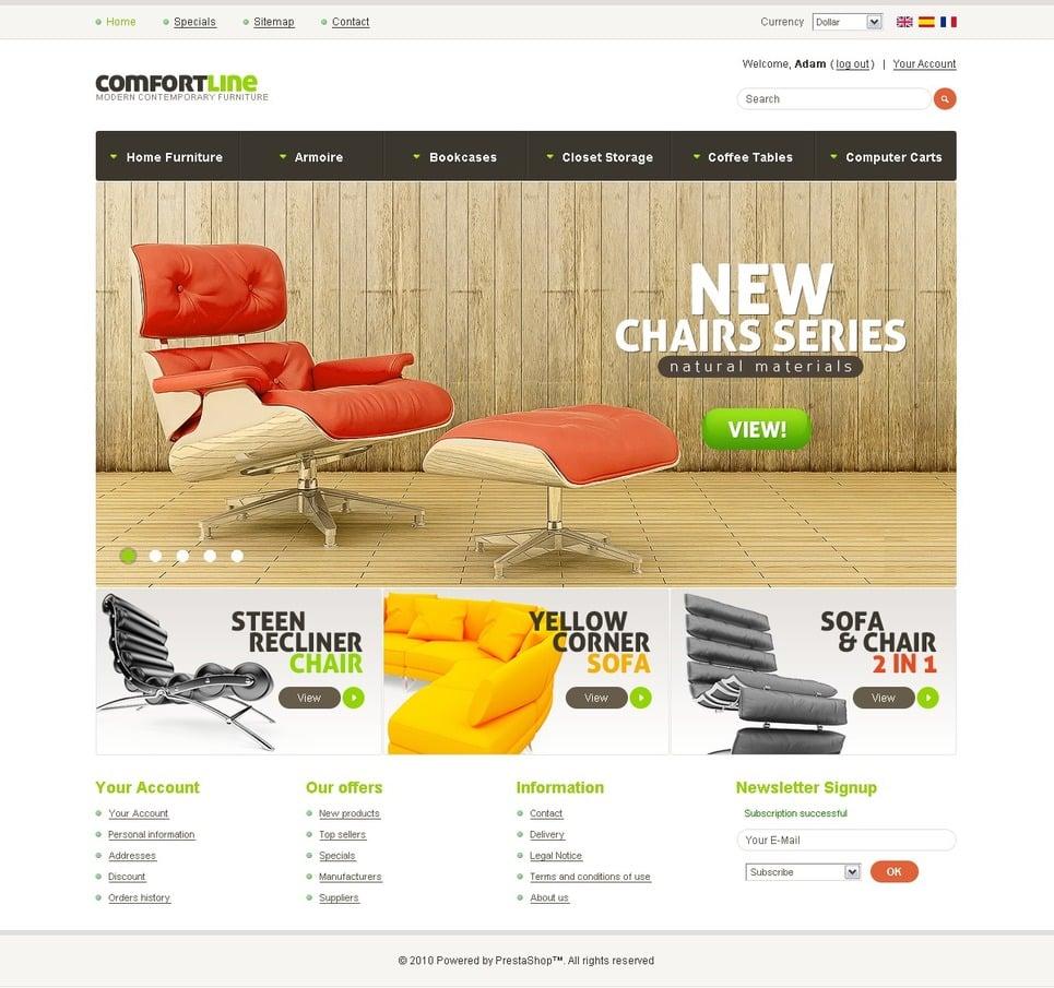 Prestashop theme 33794 f r m bel Home furniture online websites