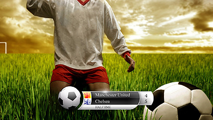 Soccer HD Graphics Package AE Intro Screenshot