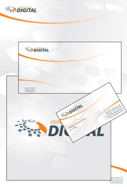 Template #33829   Corporate Identity Corel 12 - Corporate Identity preview