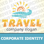 Travel Corporate Identity Template 33830
