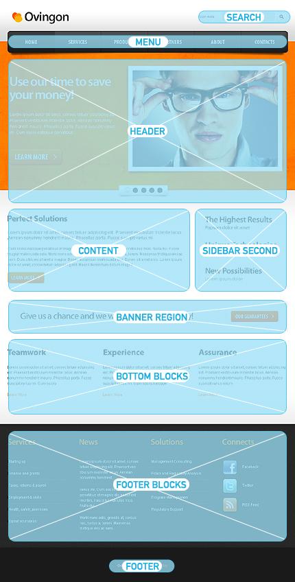 Drupal Template 33858 Main Page Screenshot