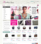 Fashion osCommerce  Template 33868