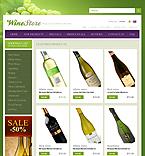 Food & Drink ZenCart  Template 33920