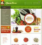 Food & Drink ZenCart  Template 33921