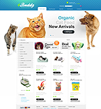 Animals & Pets osCommerce  Template 33972