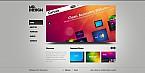 Web design Flash CMS  Template 33990