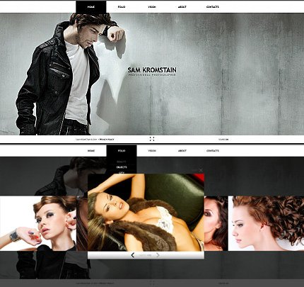 ADOBE Photoshop Template 33991 Home Page Screenshot