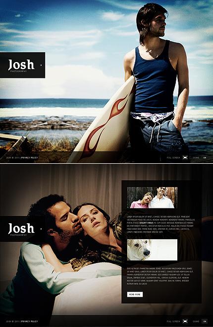 ADOBE PHOTOSHOP HOMEPAGE SCREENSHOT