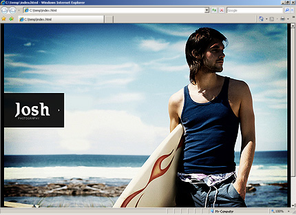 HTML Template 33994 Home Page Screenshot
