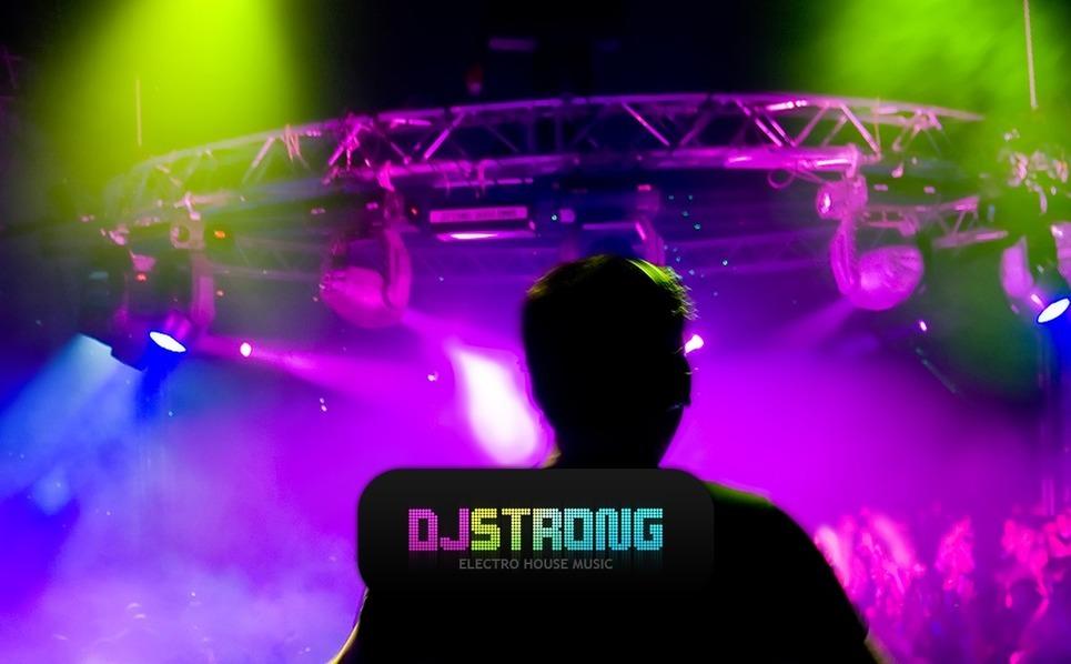 DJ Flash CMS sablon New Screenshots BIG