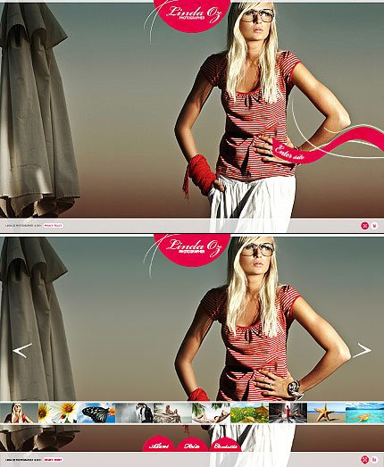 ADOBE Photoshop Template 33998 Home Page Screenshot