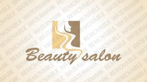 Beauty House Logo Template 63893