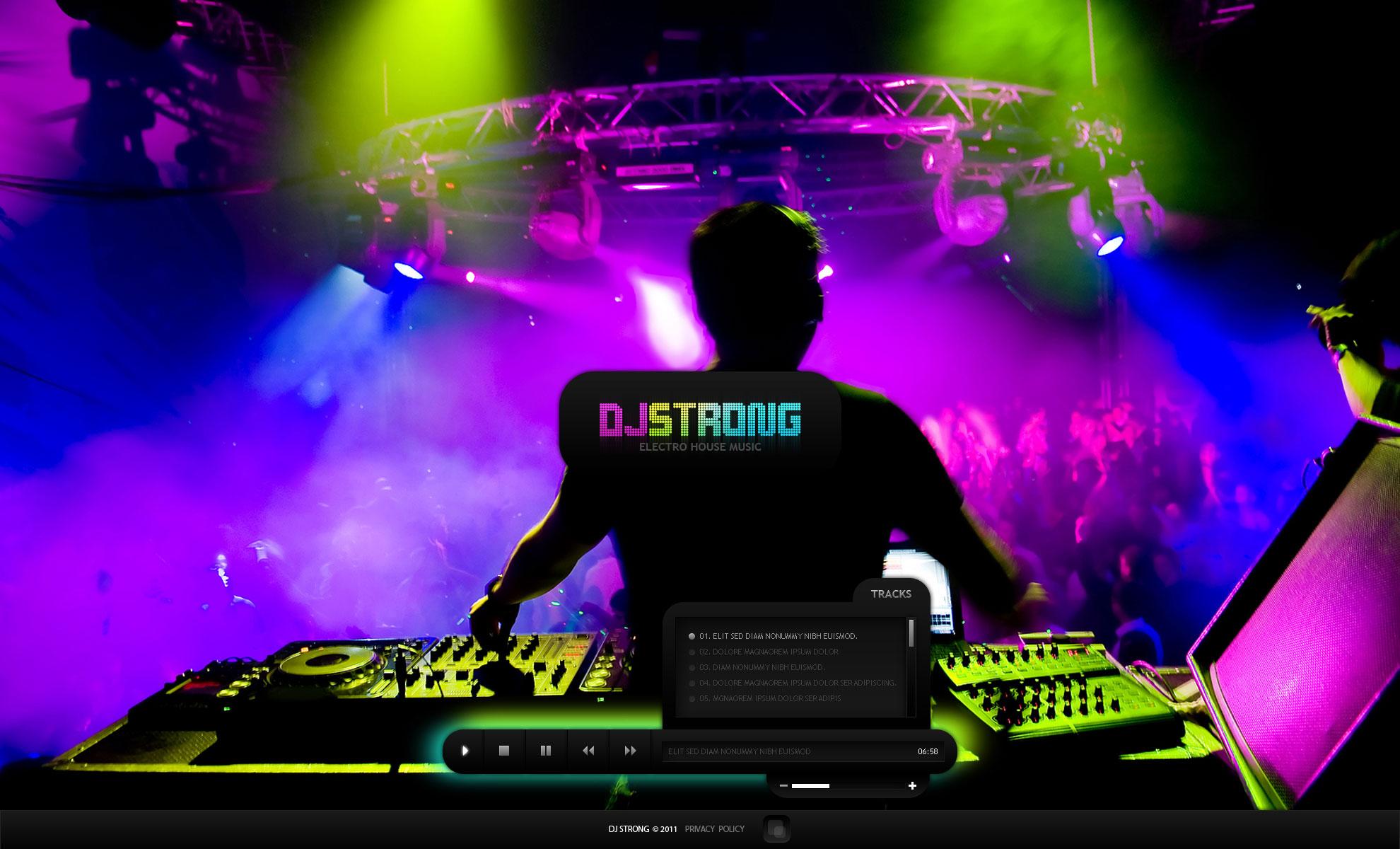 DJ Templates | TemplateMonster