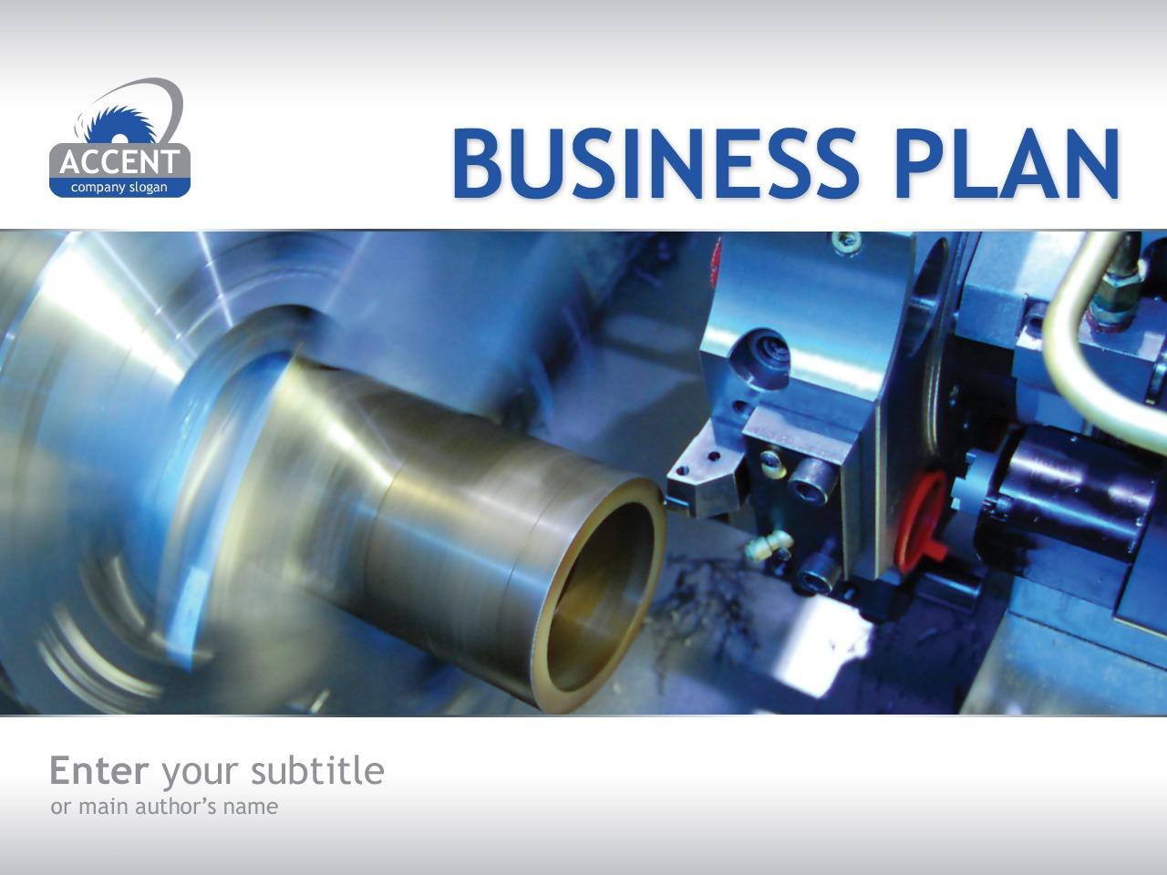 PowerPointmall för Industri #33915