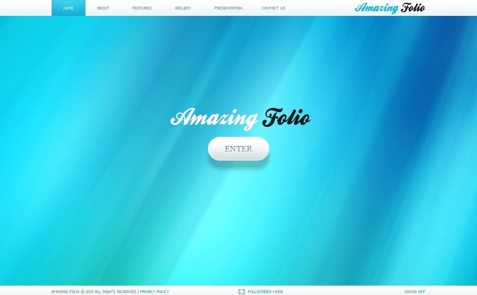 Flash CMS Template over Fotograaf Portfolio New Screenshots BIG